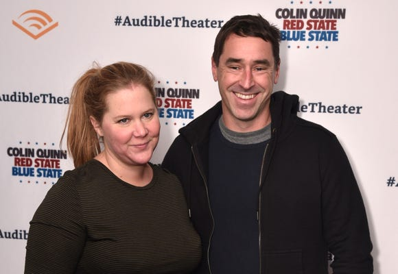 Amy Schumer and Chris Fischer are expecting. (We bet you knew that.) And it's a boy.