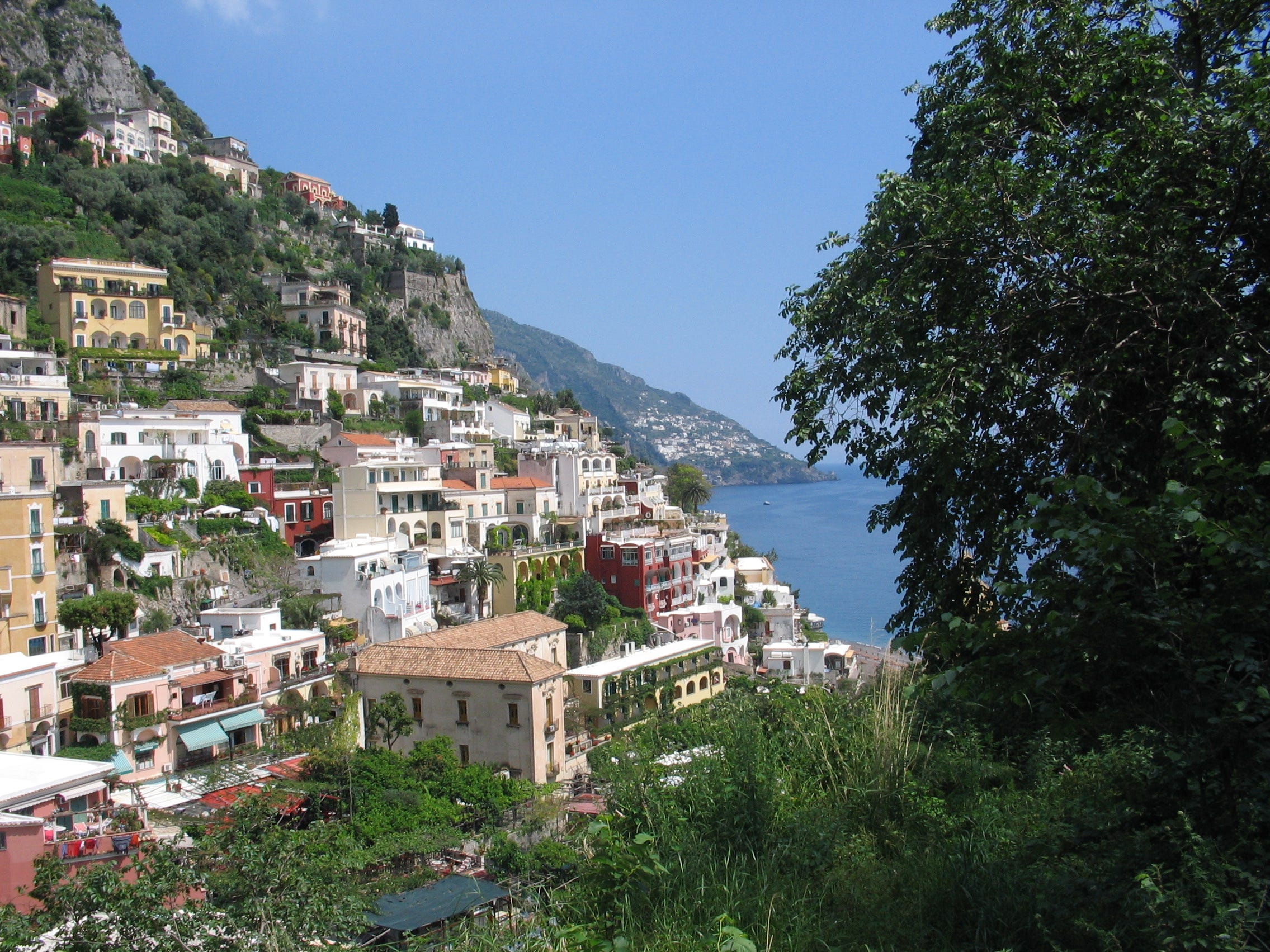 A view of the city of Positano on the Amalfi Coast of Italy. (Barry Blechman) (Via MerlinFTP Drop)