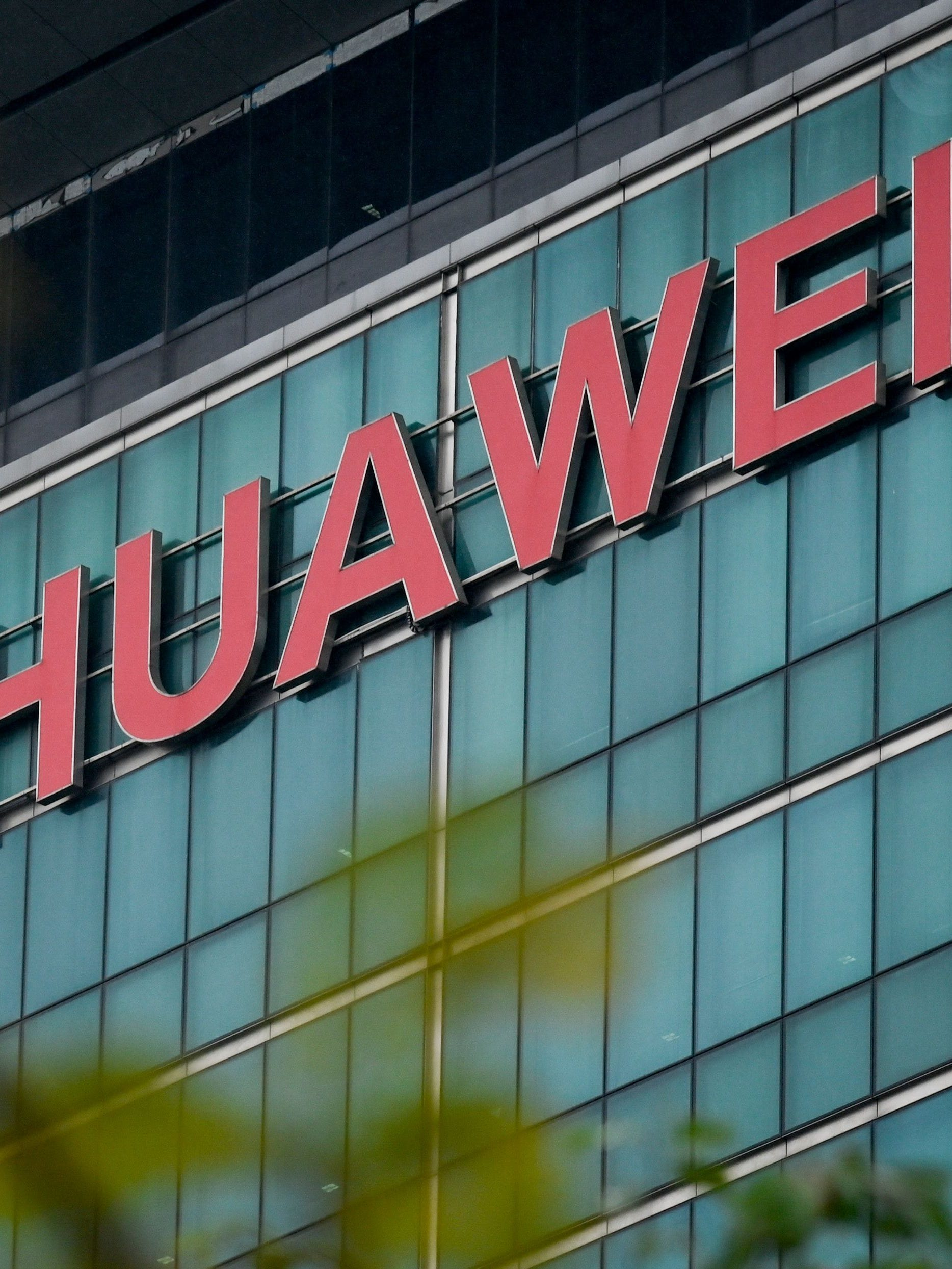 Huawei headquarters in Shenzhen, China.