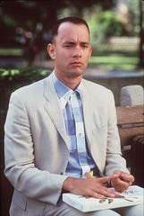 Tom Hanks as Forrest Gump.