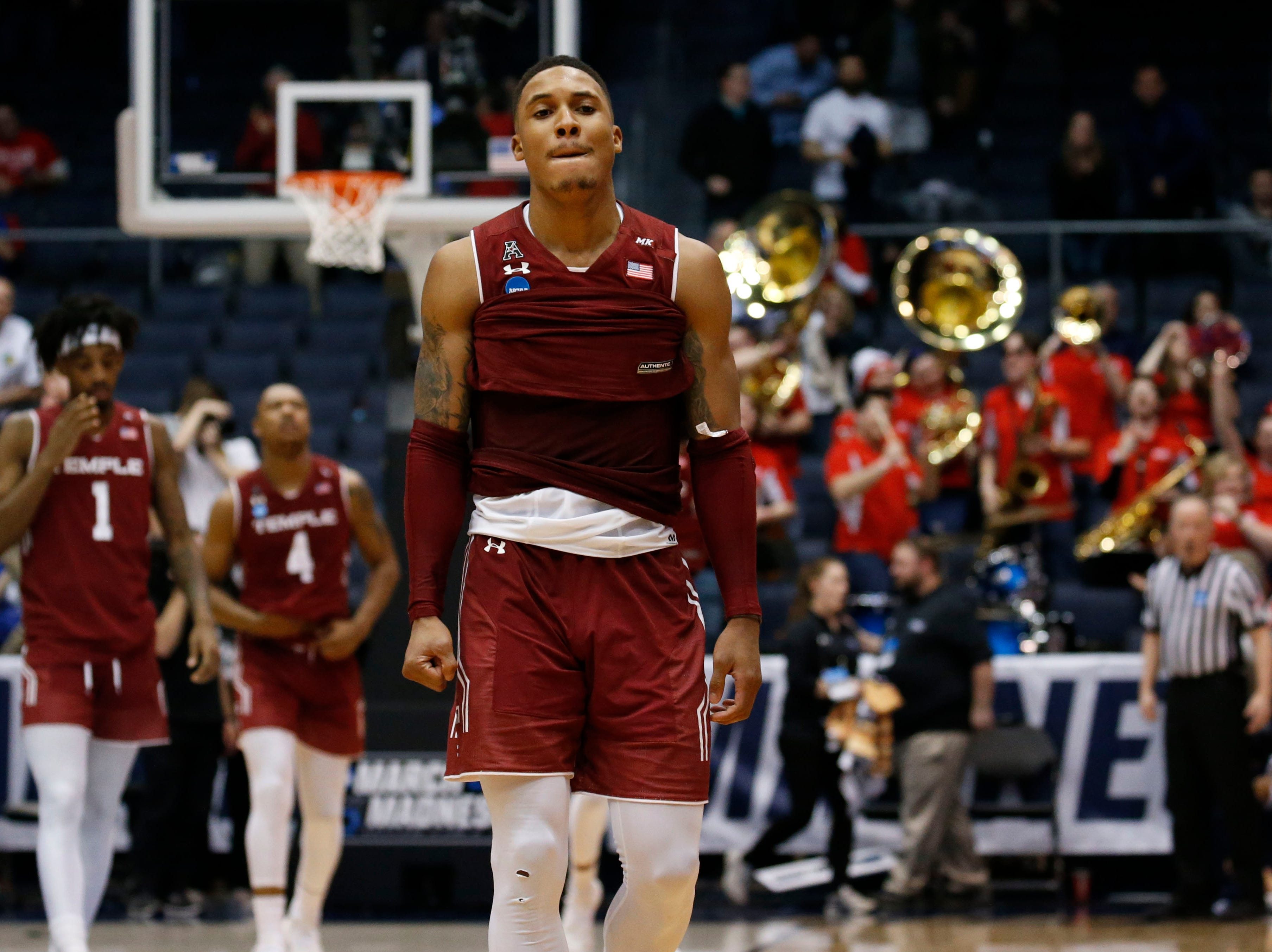 First Four: Temple loses to Belmont, 81-70.