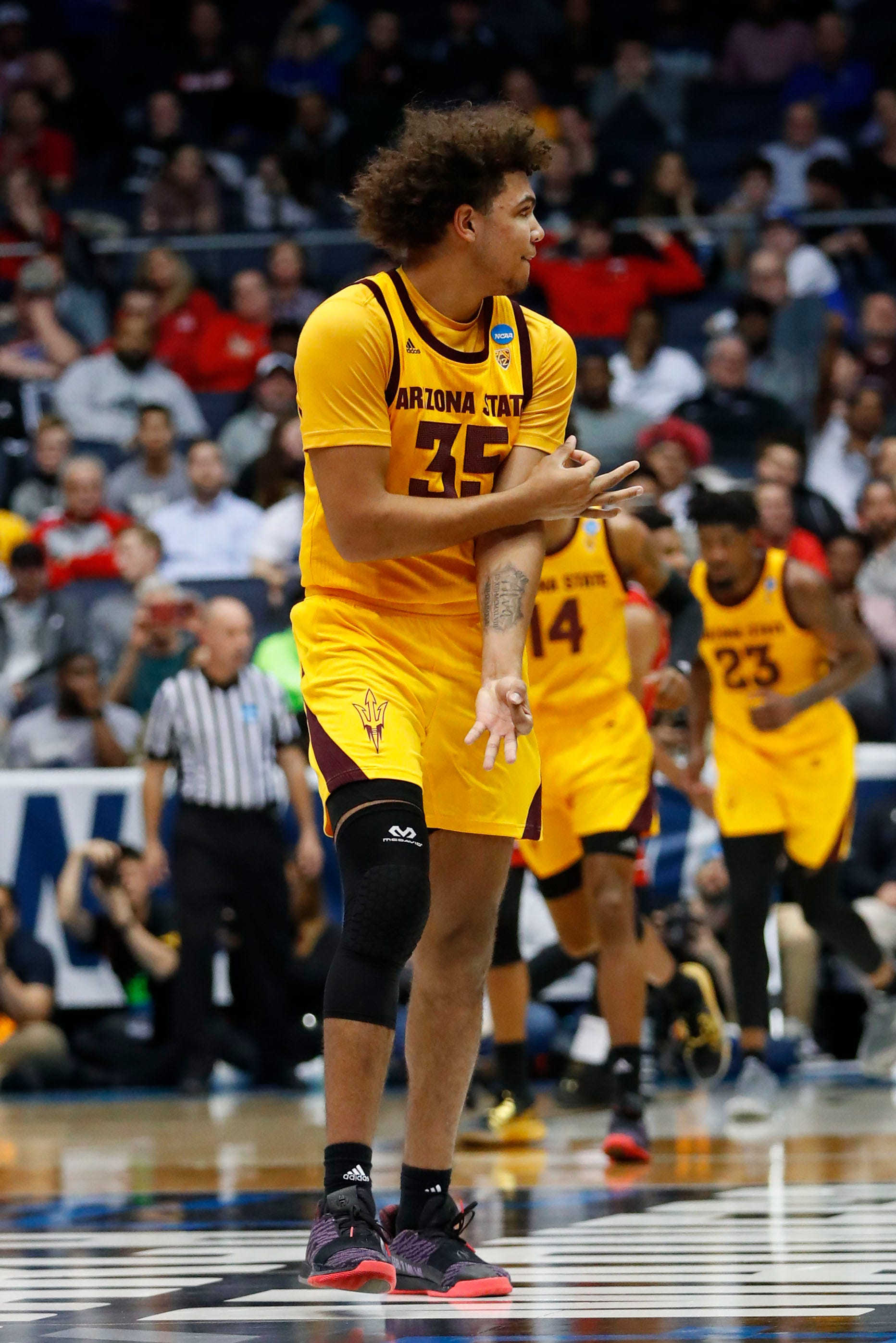 Arizona State gets first NCAA tournament win since 2009 by beating St. John's in First Four