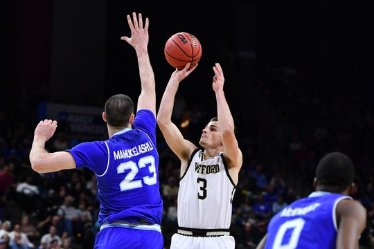 cheap for discount 1379e 8835c Seton Hall gets shot down by red-hot Wofford in NCAA Tournament