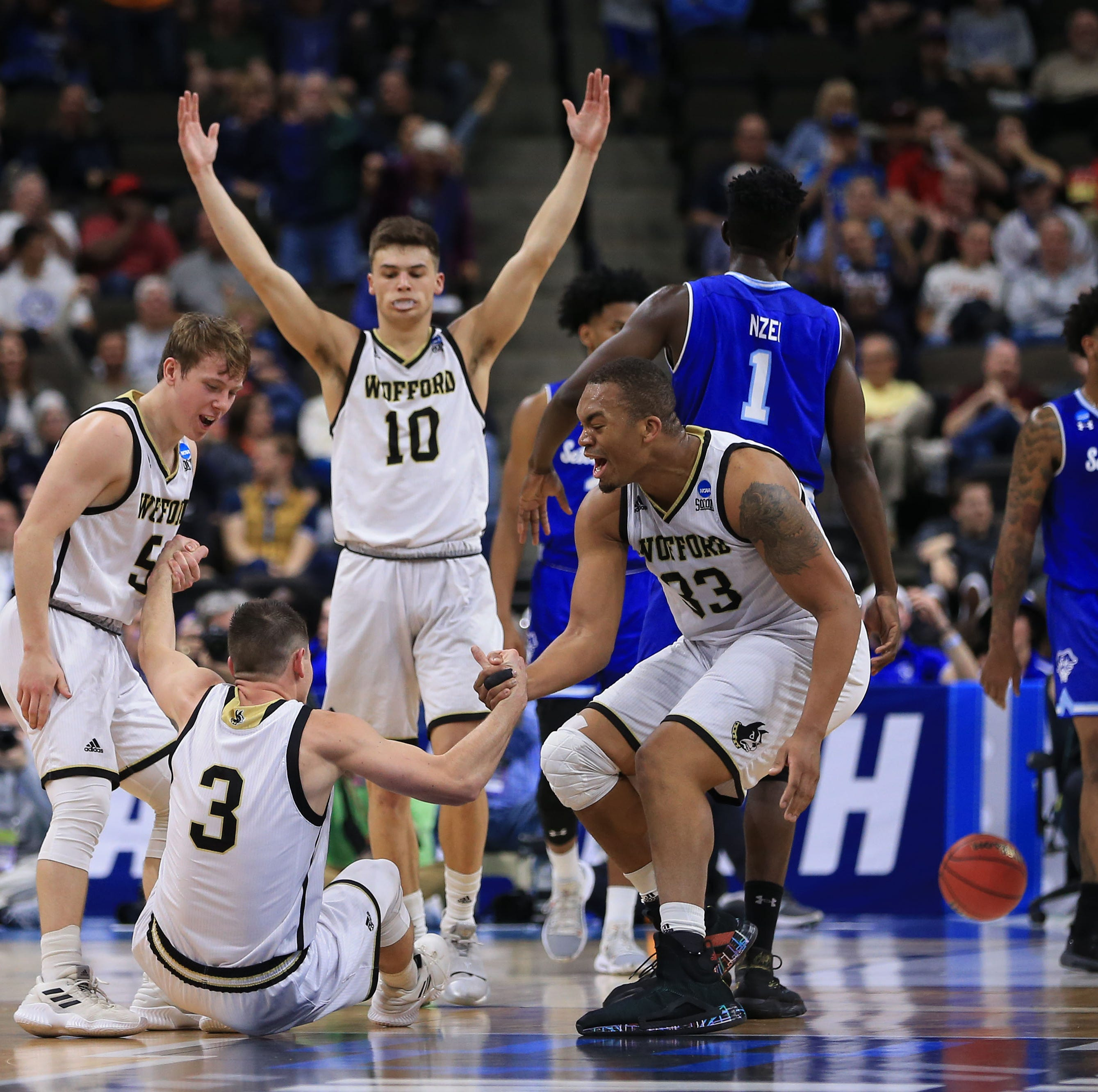 Seton Hall gets shot down by red-hot Wofford in NCAA Tournament opener