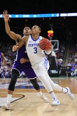 Kentucky guard Keldon Johnson