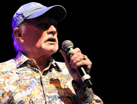Beach Boys co-founder and songwriter Mike Love gave off many good vibrations Thursday at the Abilene Convention Center.