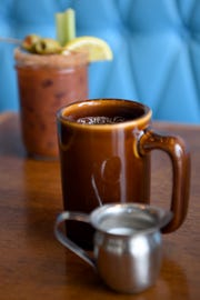 Early Girl's Bloody Mary  and coffee are staple beverage on their breakfast menu.