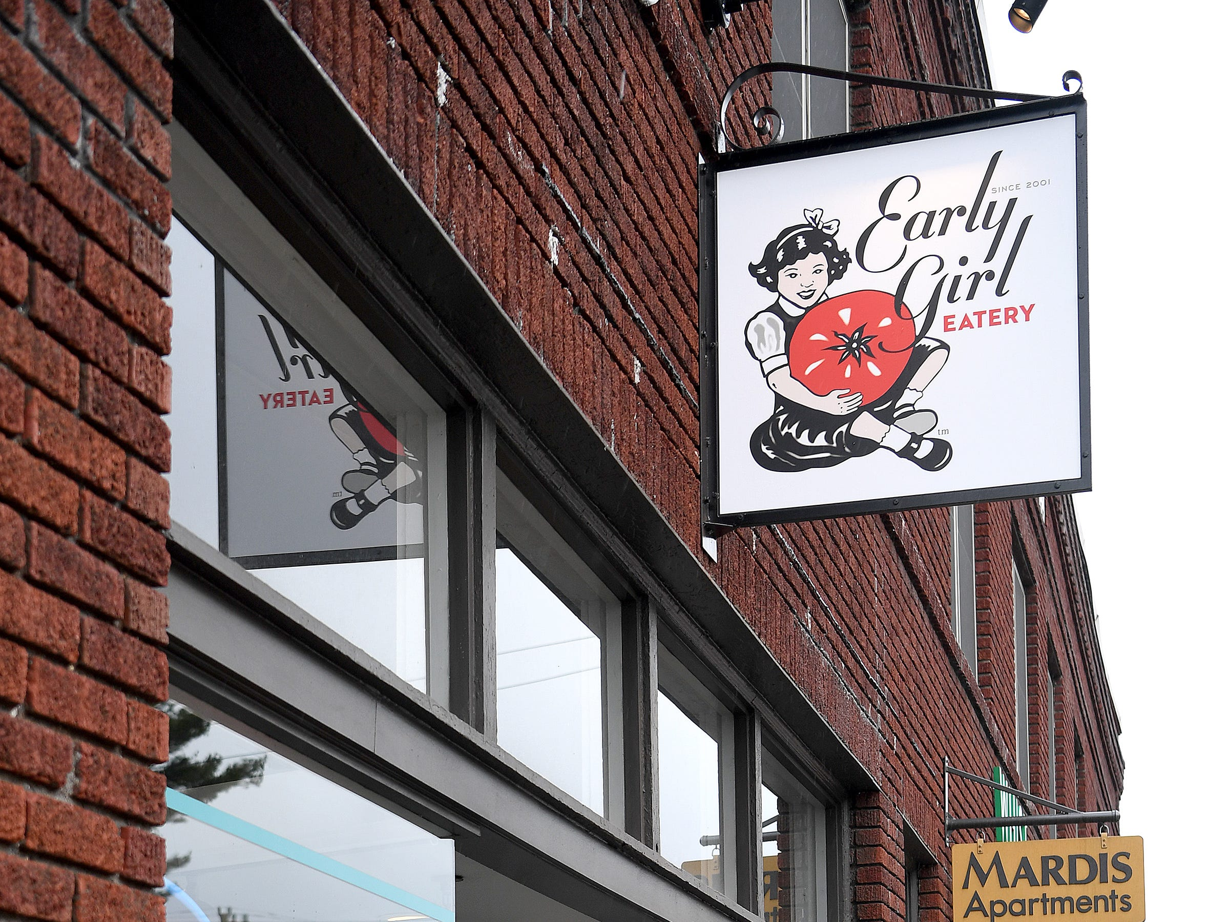 Early Girl's West Asheville location is in Haywood Road's Mardis Building and serves breakfast all day as well as lunch options.