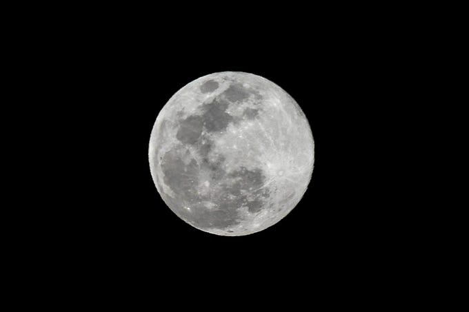 The last supermoon of 2019 loomed over the Space Coast sky on March 20, 2019.