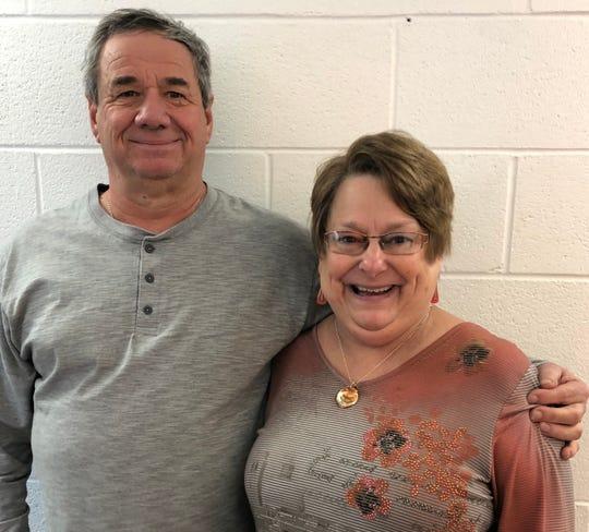 Alan and Sue Bishop.
