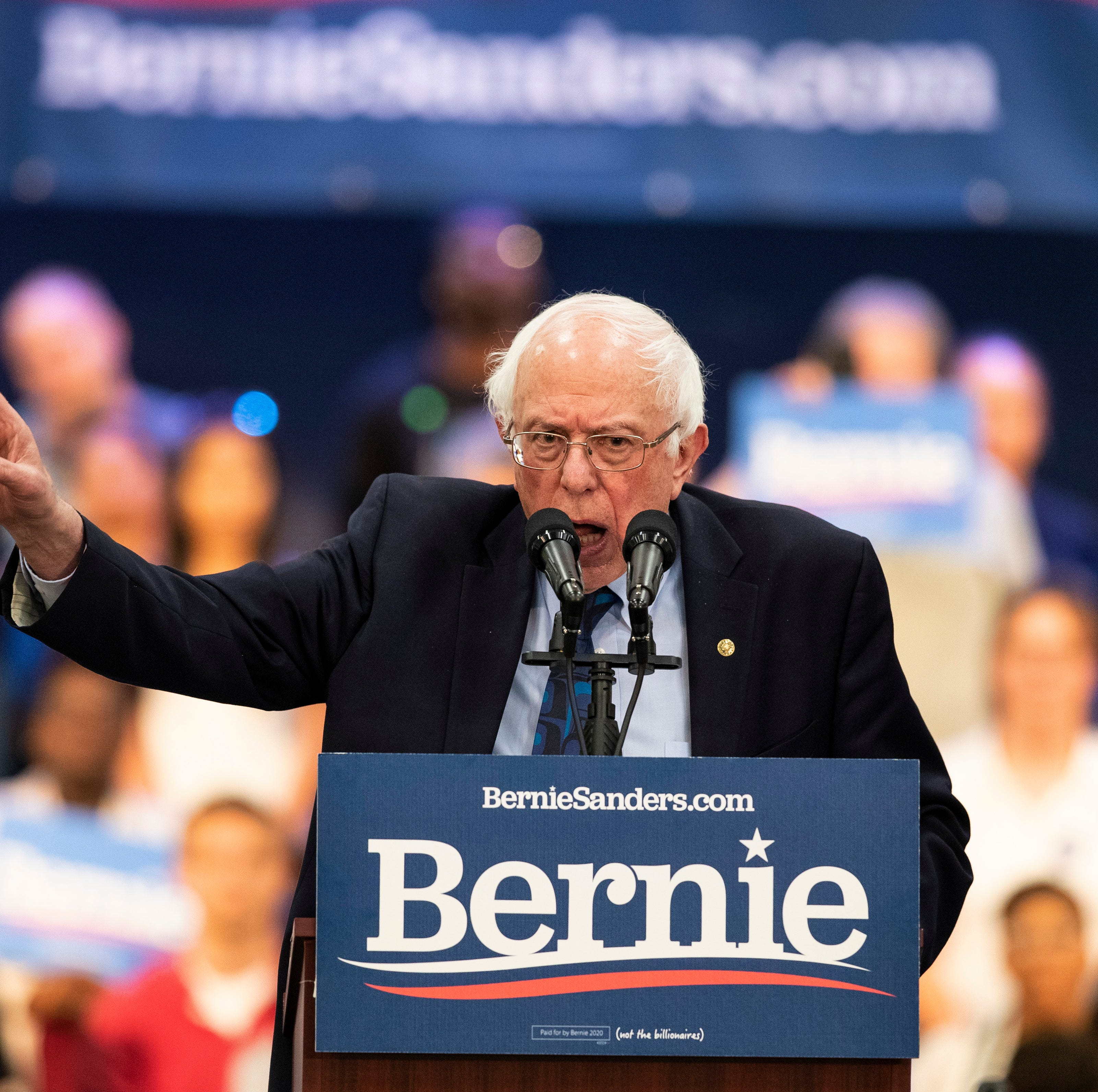 Bernie Sanders to hold first Vermont 2020 campaign rally in Montpelier