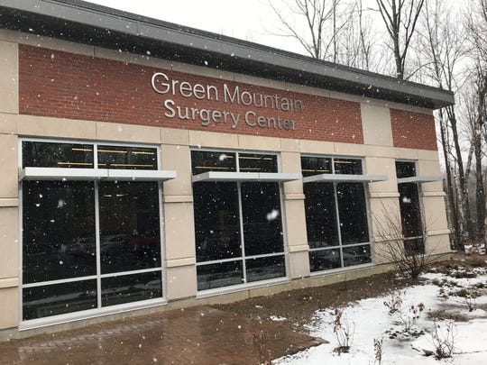 Green Mountain Surgery Center in Colchester, on March 22, 2019.