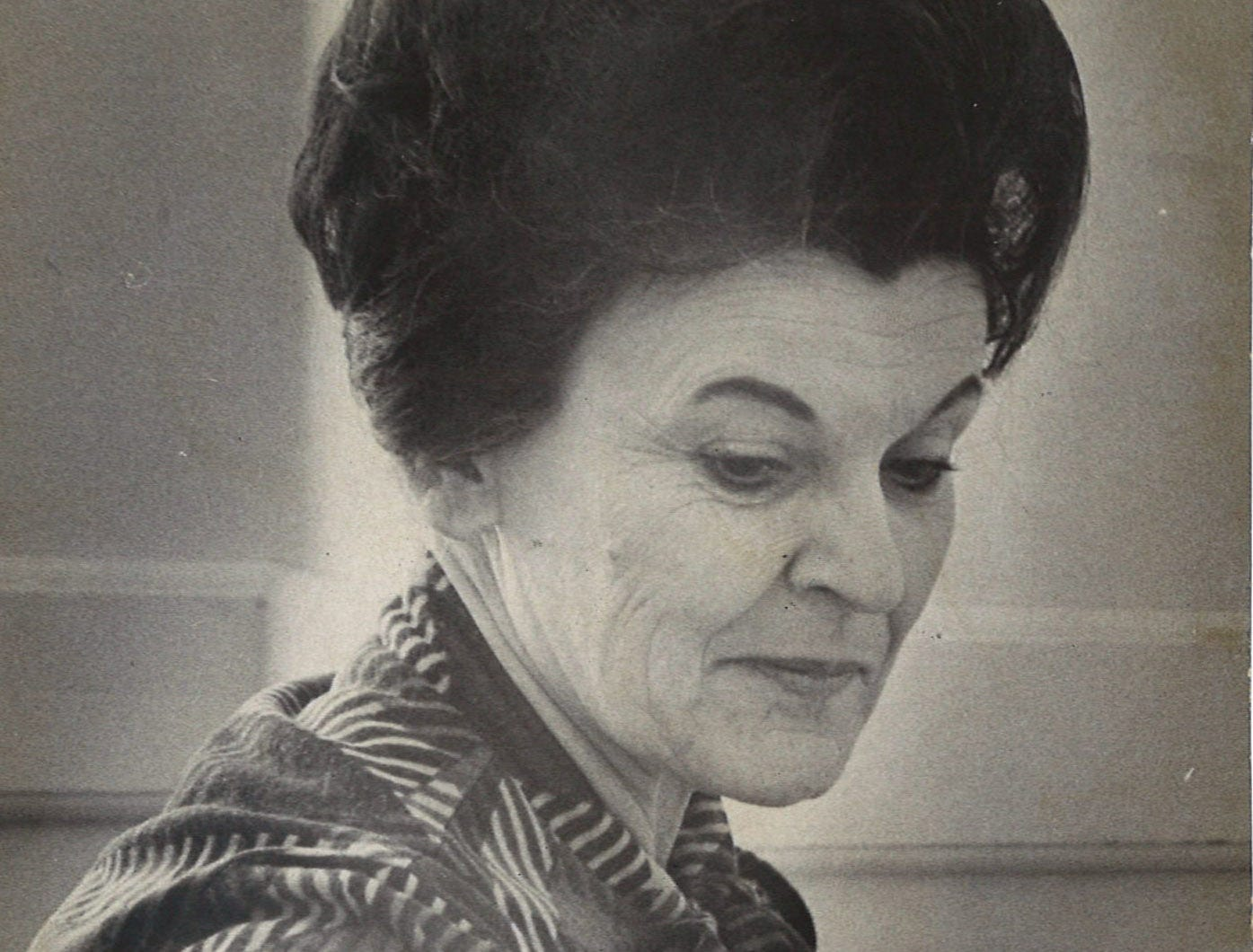 Rachel Littlejohn was elected to the 156th District Court, which serves Aransas, Bee, Live Oak, McMullen and San Patricio, in November 1974. This photo was taken in January 1976.