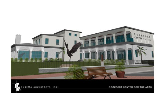 Rockport Center for the Arts released a conceptual drawing of its planned new facility.