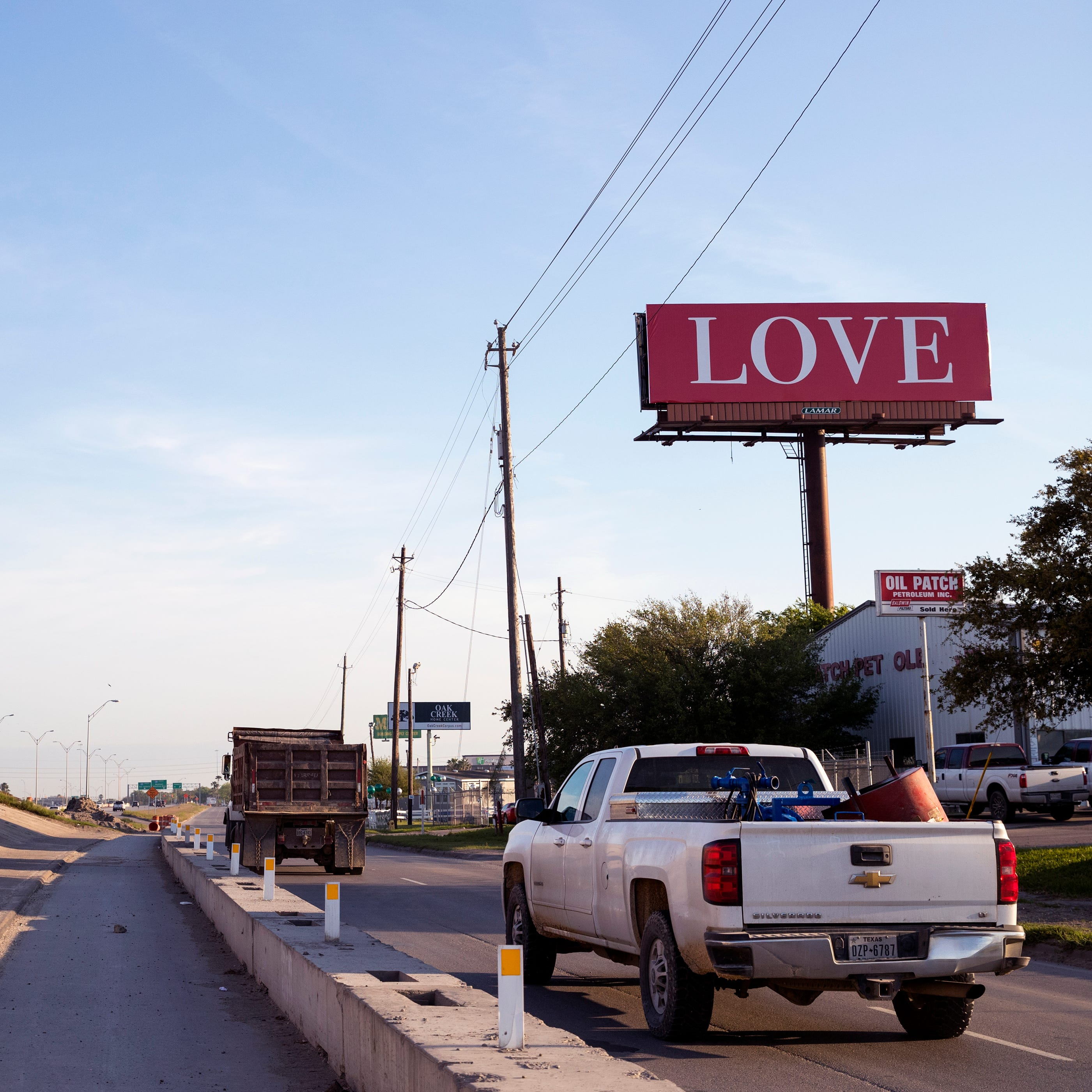 Have you seen this billboard? Texas gets first 'LOVE' billboard in Corpus Christi
