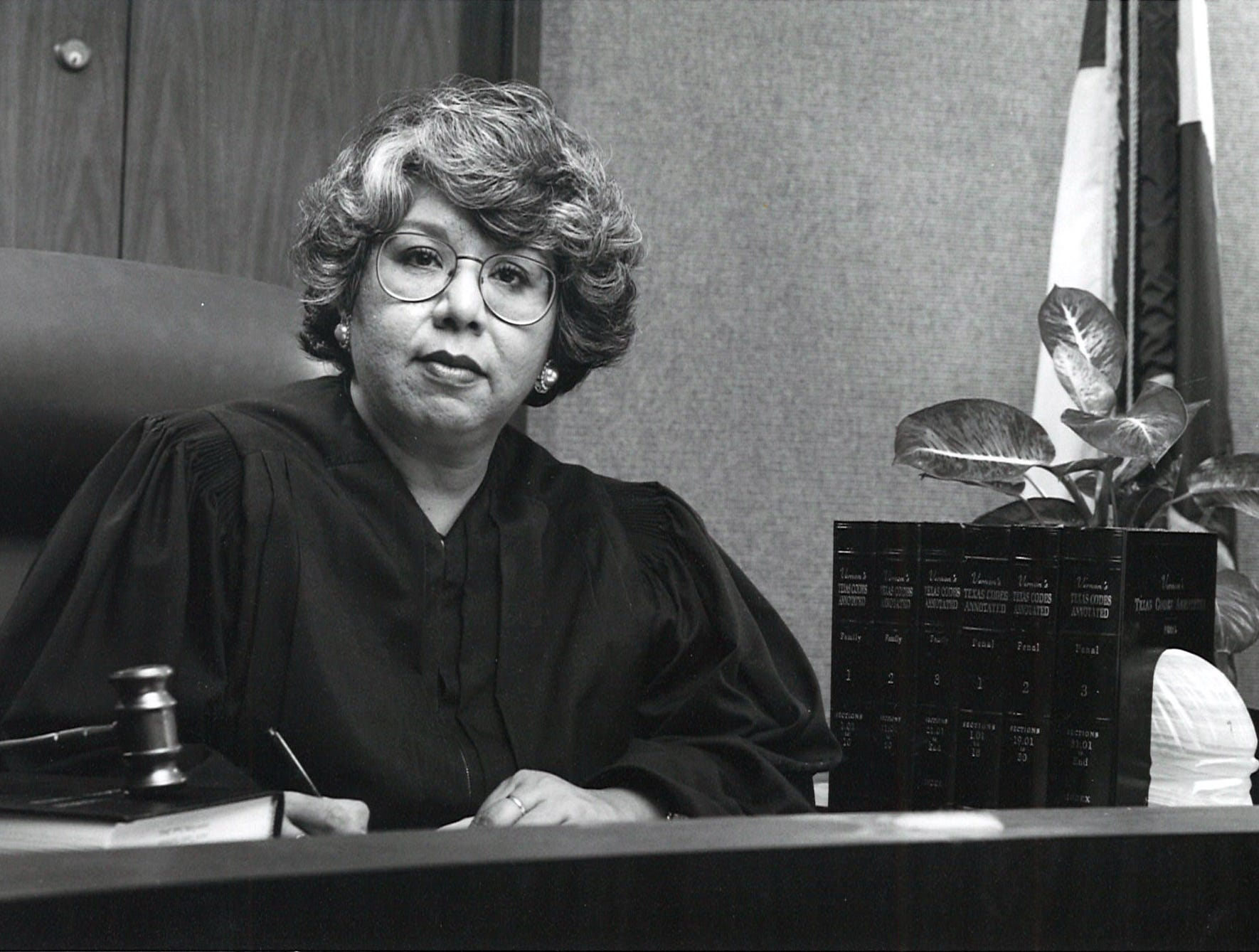 Judge Hilda Tagle of Nueces County Court-at-Law No. 3 in November 1993.