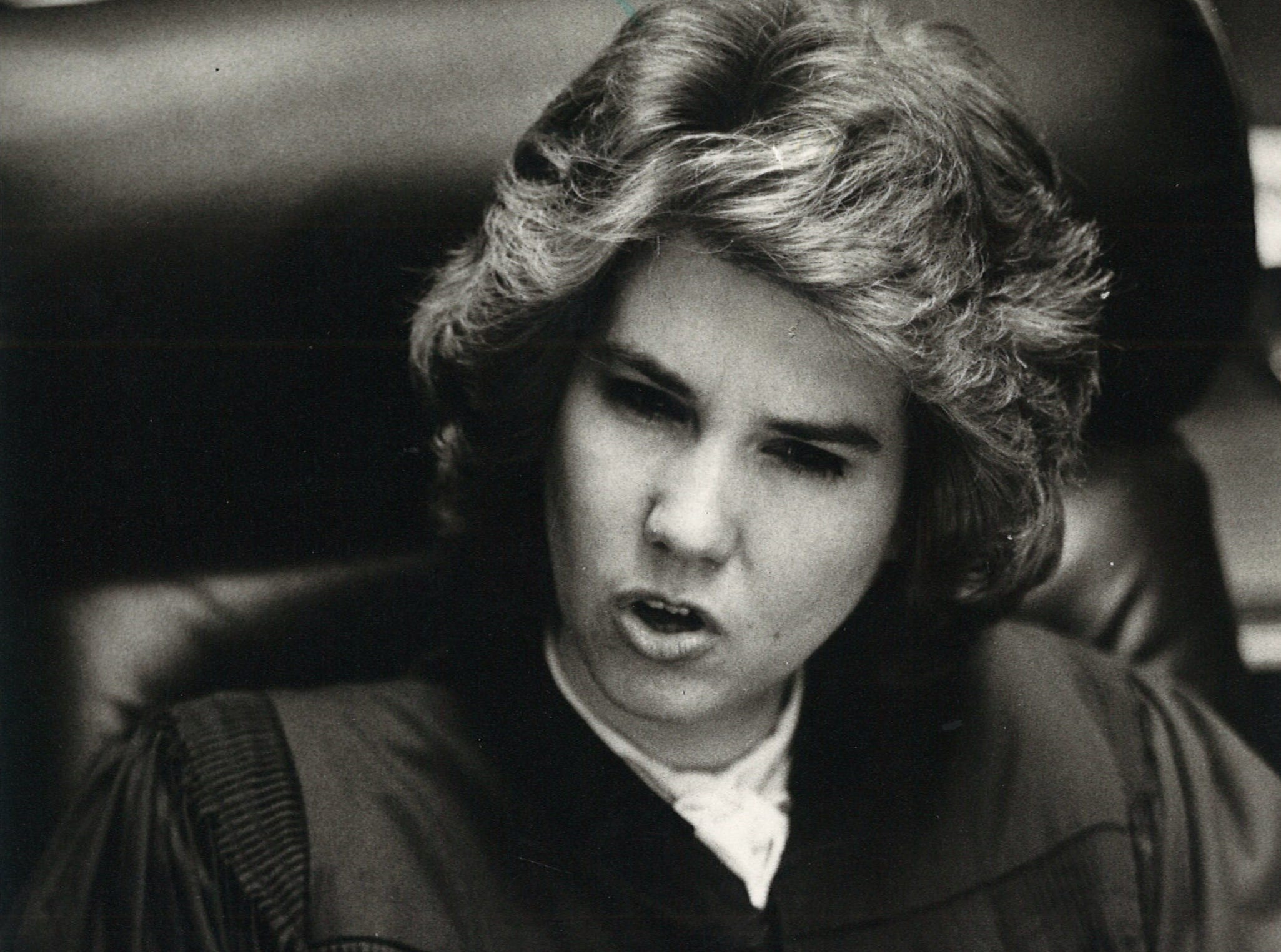 Paula Waddle was the first woman to serve as a municipal court judge in Corpus Christi when she was appointed in 1982.