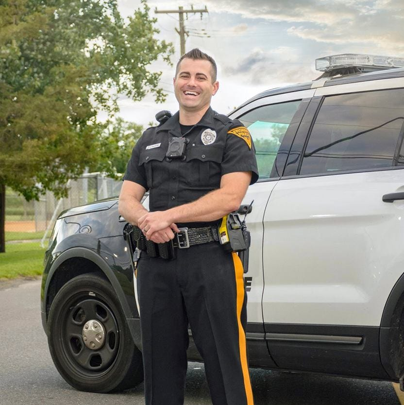 Evesham police officer honored after saving armed suicidal man's life