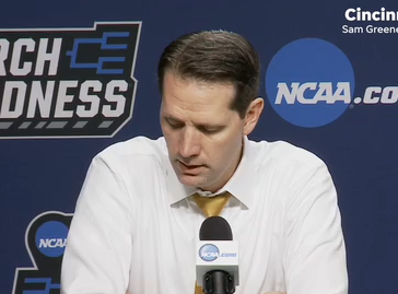 NKU head coach John Brannen wraps up the NCAA Tournament first round loss to Texas Tech.