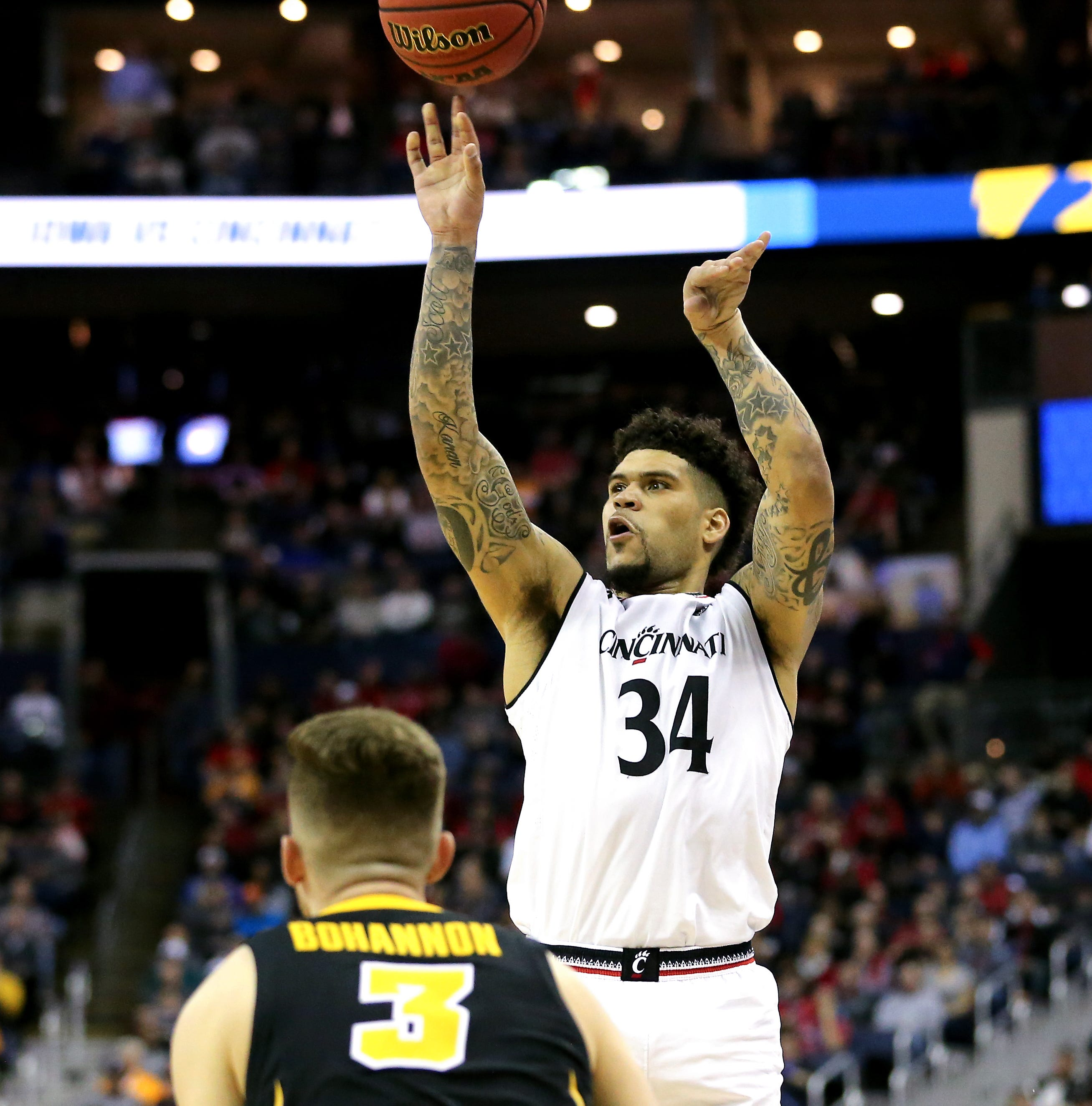 University of Cincinnati's Jarron Cumberland to test NBA draft waters