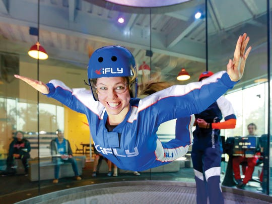 Skydive without the risks at IFLY, with several locations in the region.