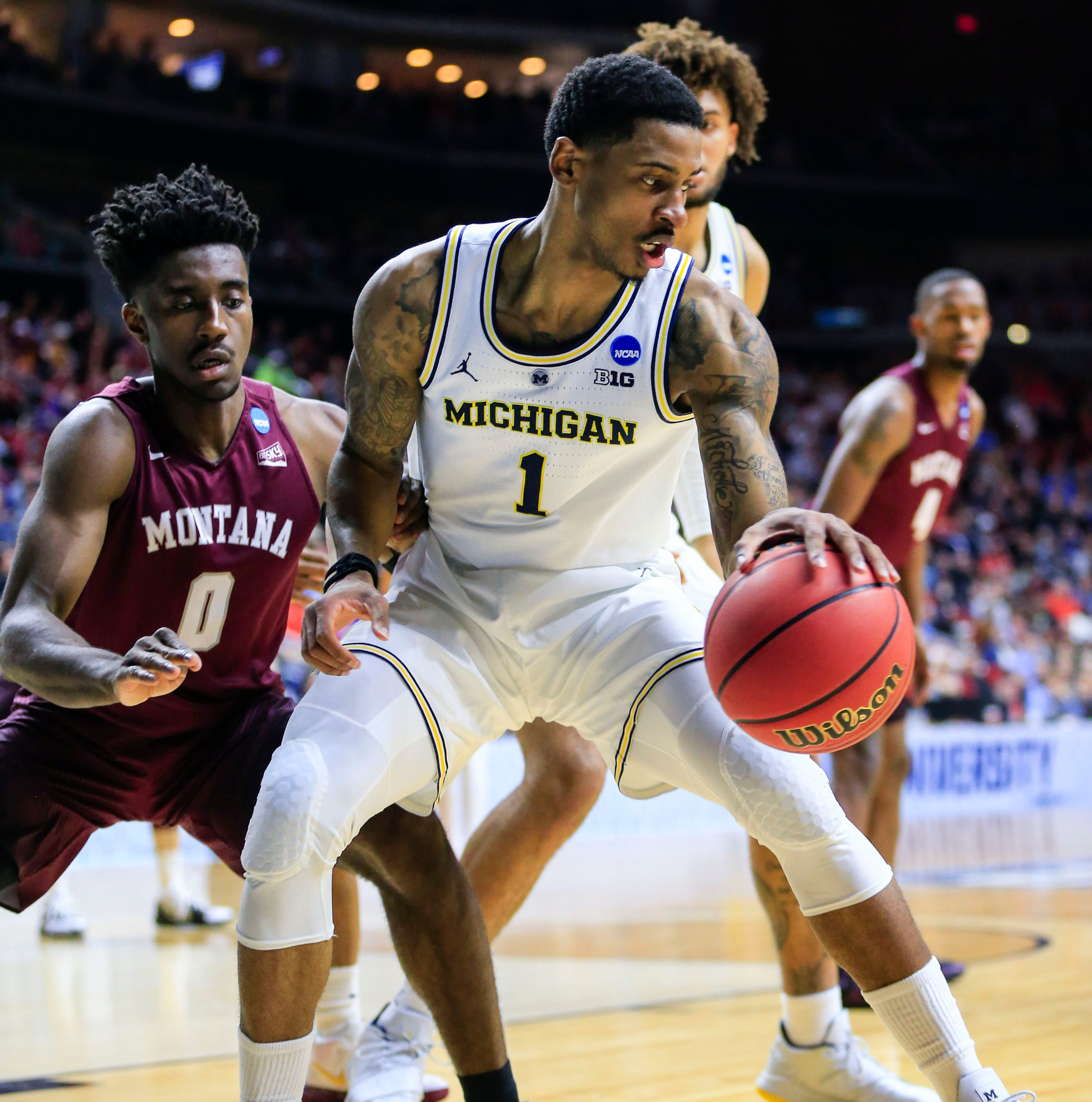 Michigan basketball gets new life in NCAA tournament, blasts Montana