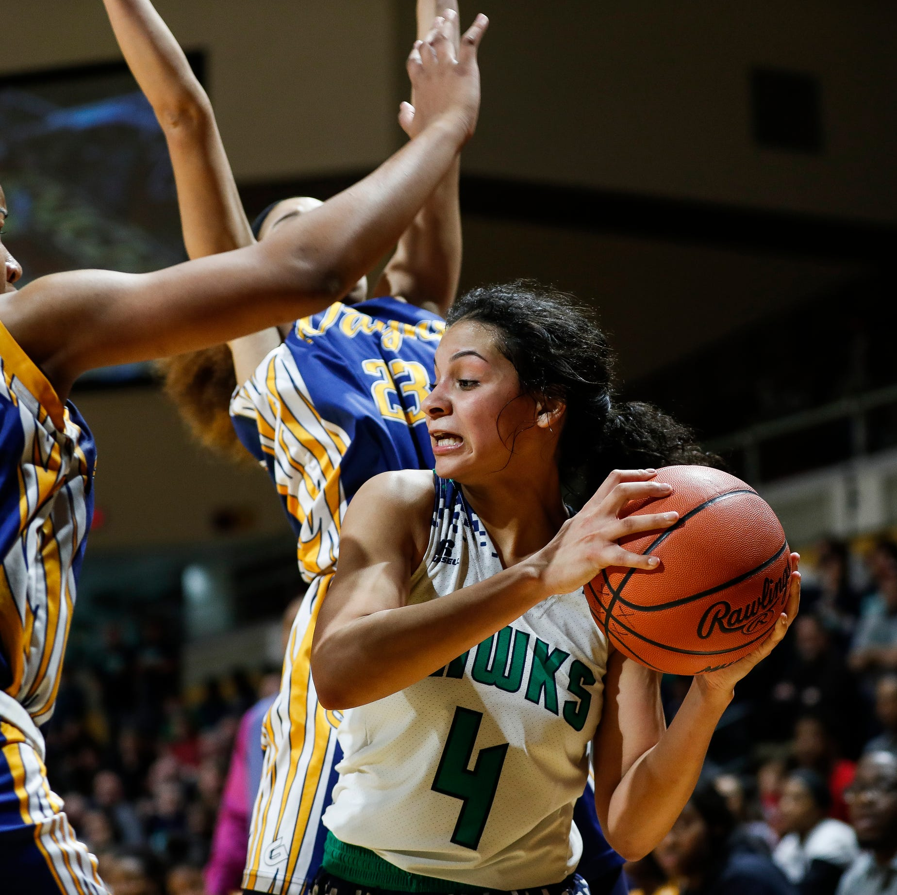 Wayne Memorial girls basketball falls to Saginaw Heritage in state semifinals