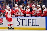 Taro Hirose is earning high praise from the Detroit Red Wings are 2 assists in 2 games. Filmed March 21, 2019 in St. Louis.
