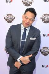 """Eugene Cordero at truTV's """"Tacoma FD"""" premiere event March 20 in Los Angeles."""