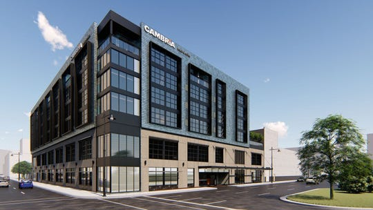 Groundbreaking could happen in June for the proposed Cambria Hotel in Detroit