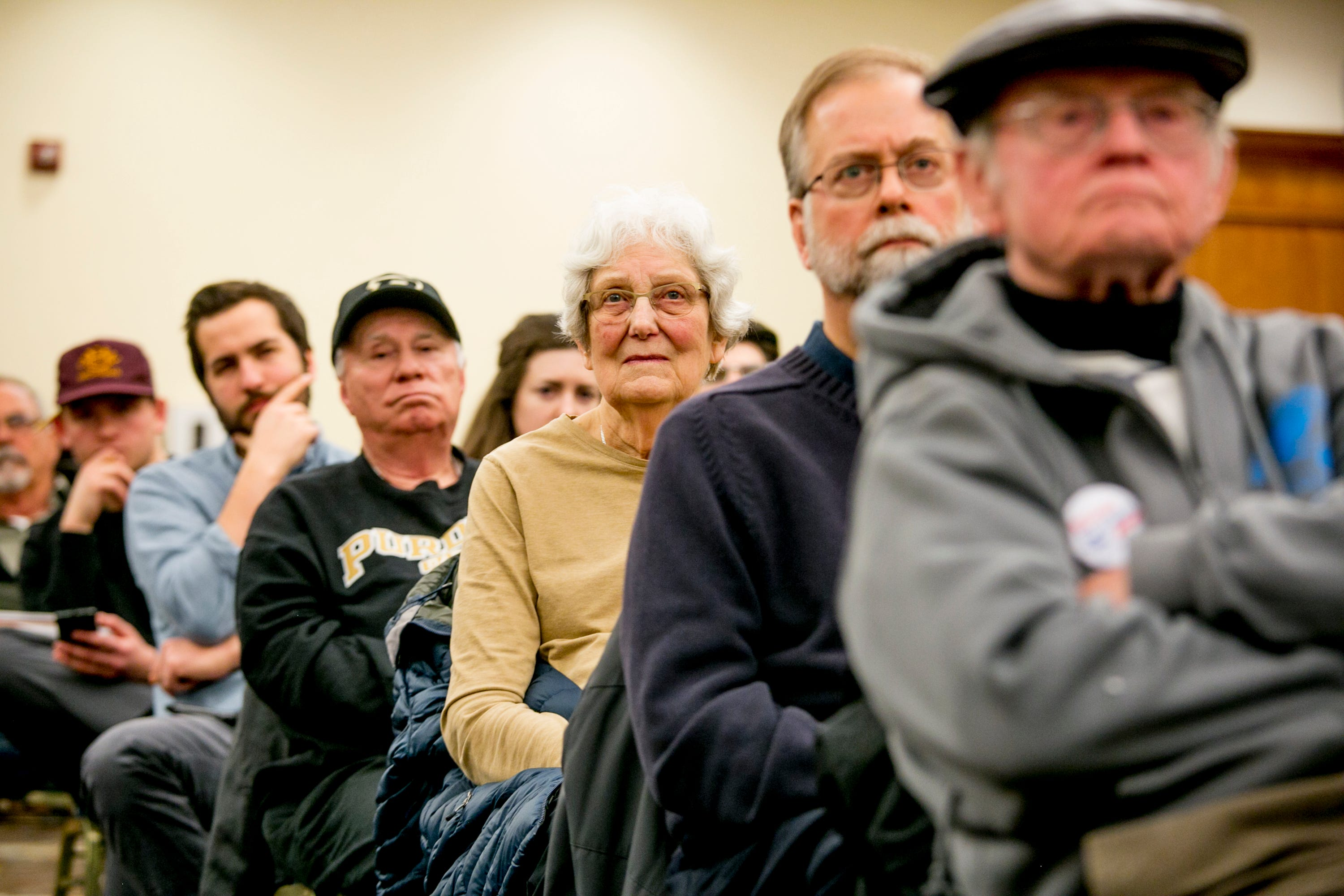 """U.S. Rep. Elissa Slotkin called her first town hall at Oakland University in her district Thursday, March 21, """"an act of radical listening."""""""
