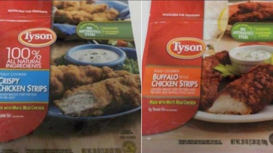 Tyson products being recalled