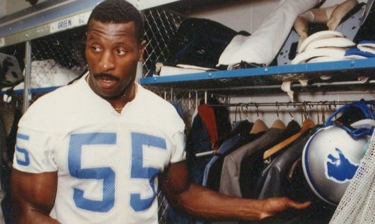 Mike Cofer played with the Lions from 1983-92.