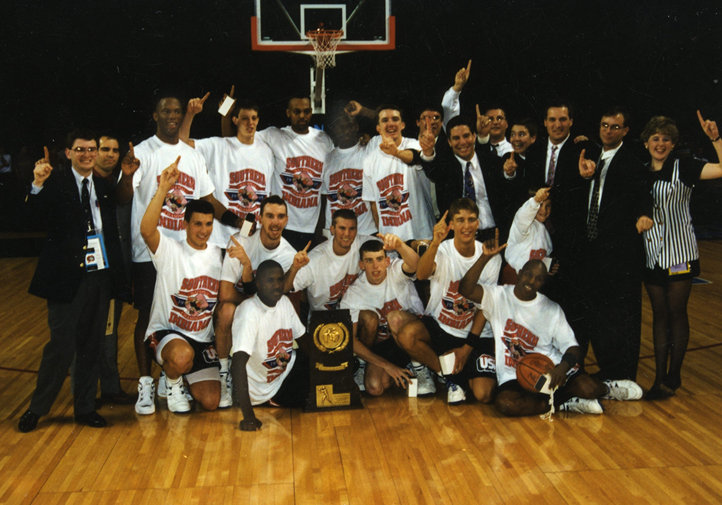 USI's 1995 National Championship team