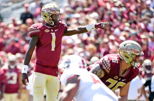 Florida State redshirt sophomore quarterback James Blackman hopes to lead the Seminoles offense once again next season.