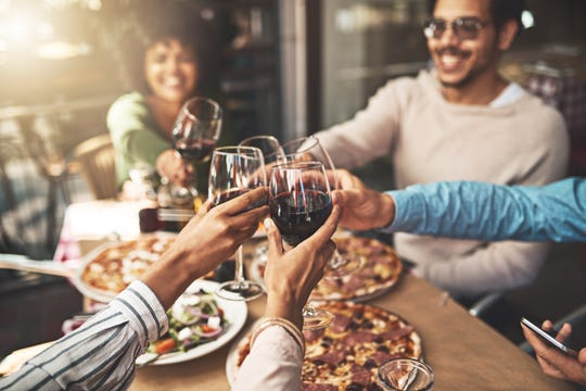 If you're looking for a perfect wine to pair with your pizza, find a pinot noir. Specifically, Averaen Pinot Noir WIllamette Valley.