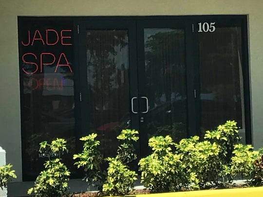 A worker at a spa at this Del PRado North location in Cape Coral in 2017 was charged with a racketeering violation and a misdemeanor health-safety violation of operating a massage parlor as a principal domicile. A spa is still operating at this location but information on it's license could not be located. The Del Prado address is listed in court documents connected with the Florida Department of Law Enforcement 2017 spa bust.