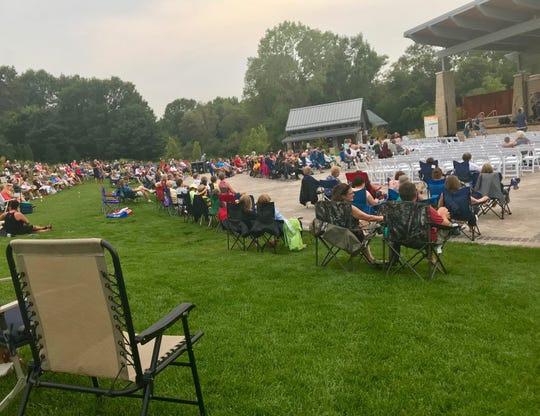 The Billie Kress Amphitheater at Green Bay Botanical Garden will host seven ticketed concerts for this summer's Les Stumpf Grand Concert Series.