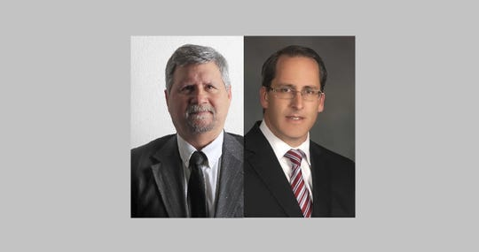 Brown County Executive candidates Mark Berndt and Troy Streckenbach