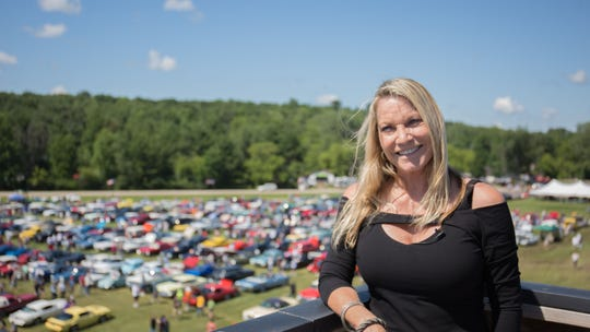 This year's special guests includes motorsports enthusiast Jo Coddington.