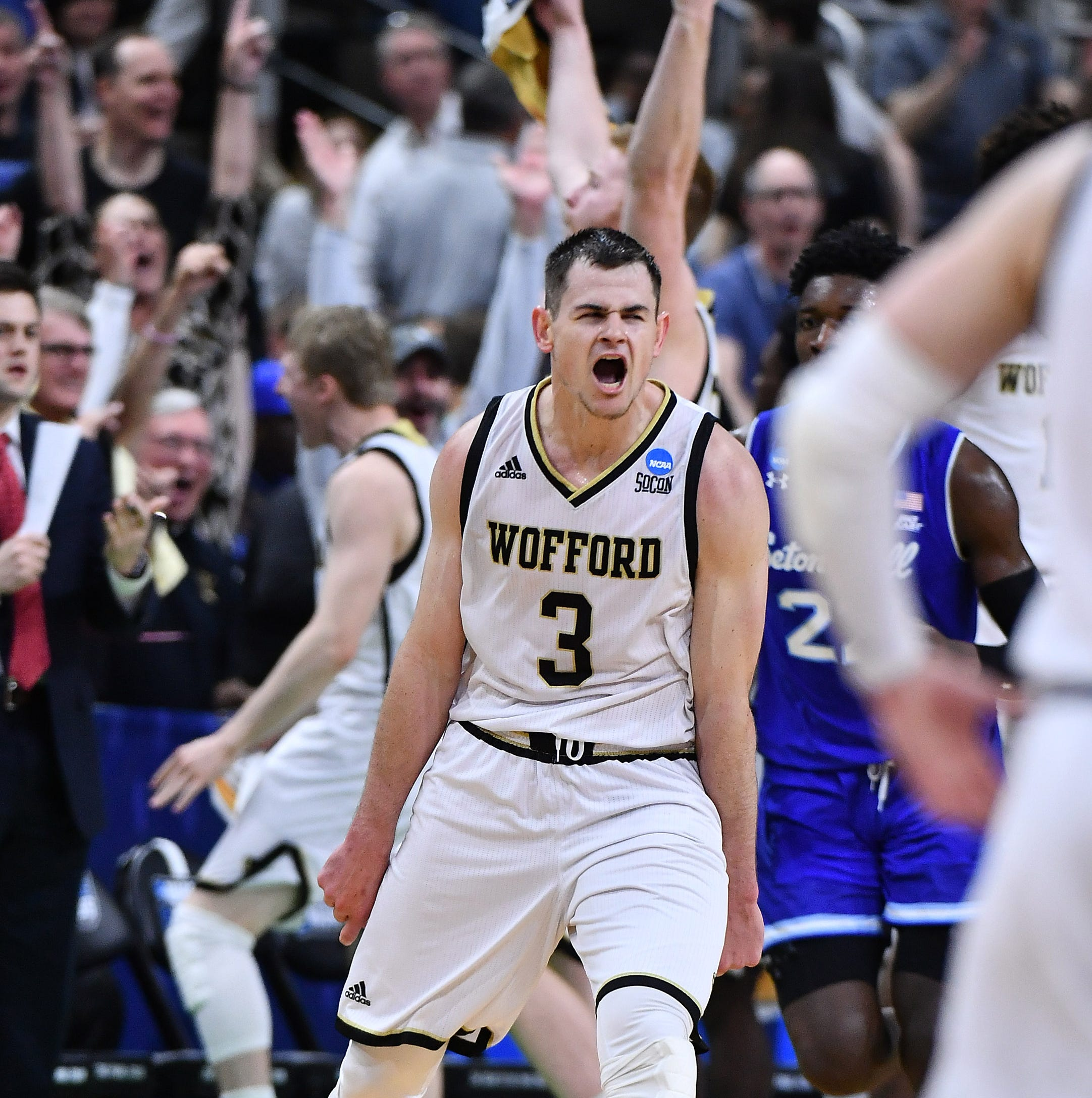 March Madness: Fletcher Magee sends Wofford past Seton Hall in NCAA Tournament's 1st round