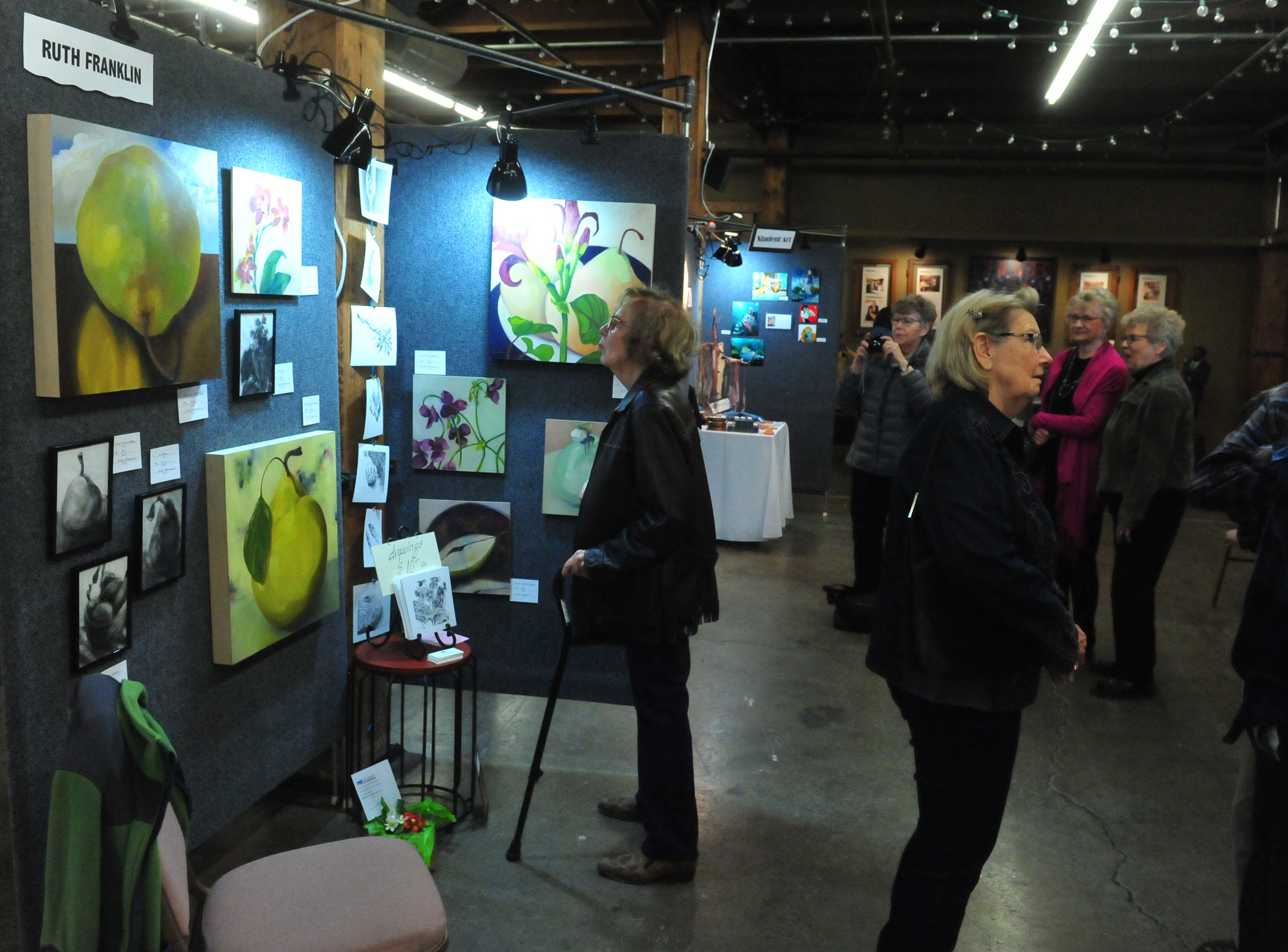 The Missouri Falls Fine Art Show at the History Museum, Thursday.
