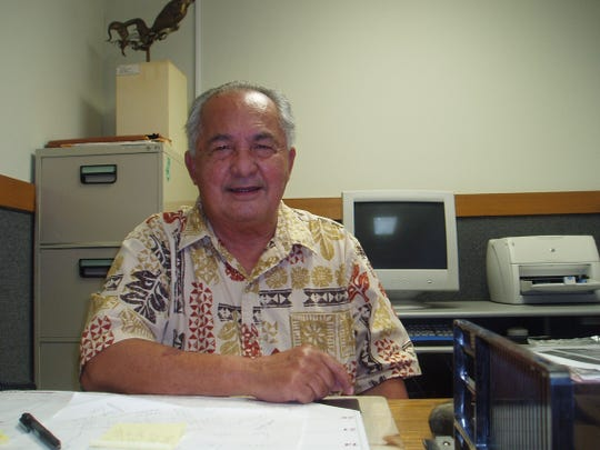 In Island in Agony, author Tony Palomo described the division of CHamorus from Guam and the Northern Marianas.