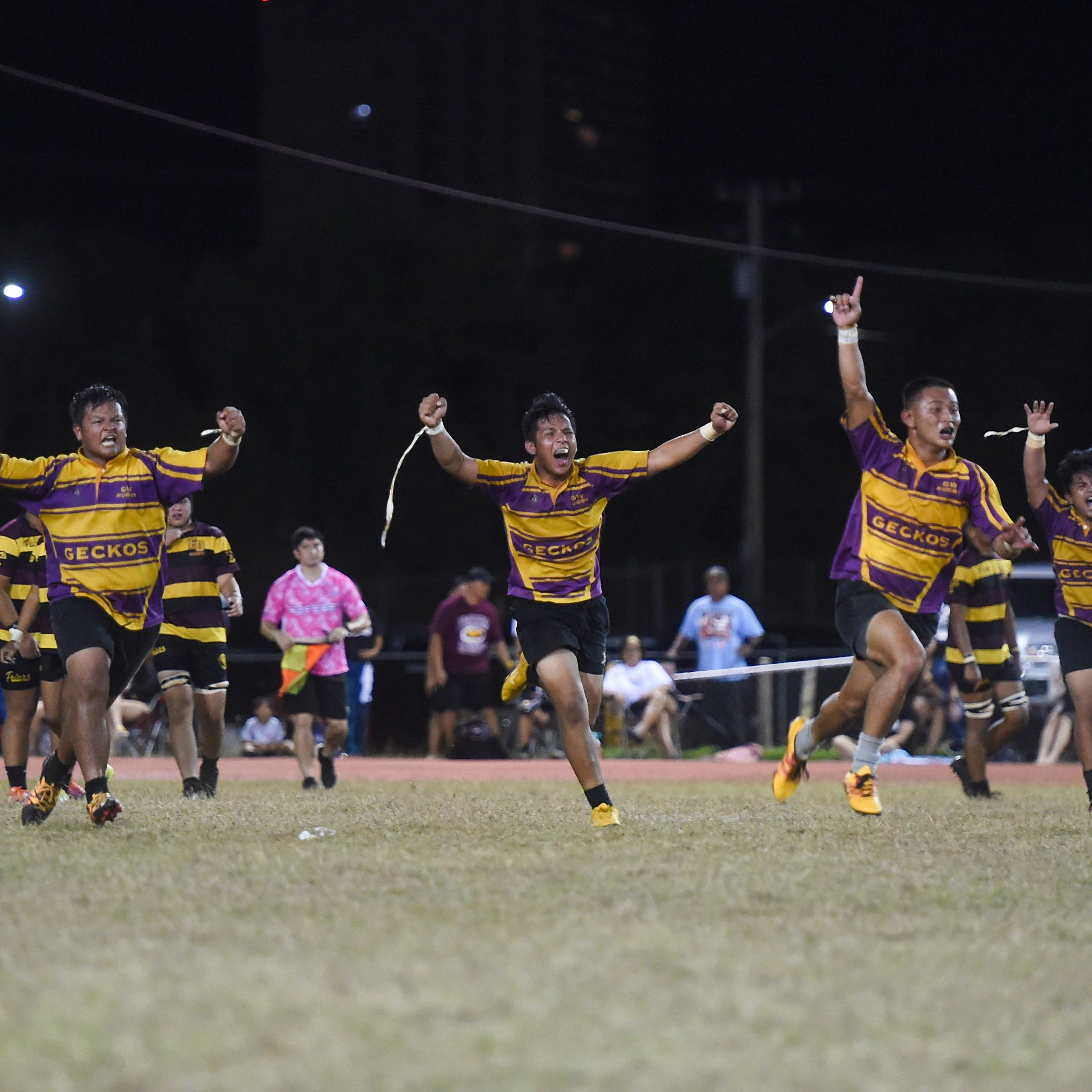 Geckos ground and pound past FD, recapture rugby Cup
