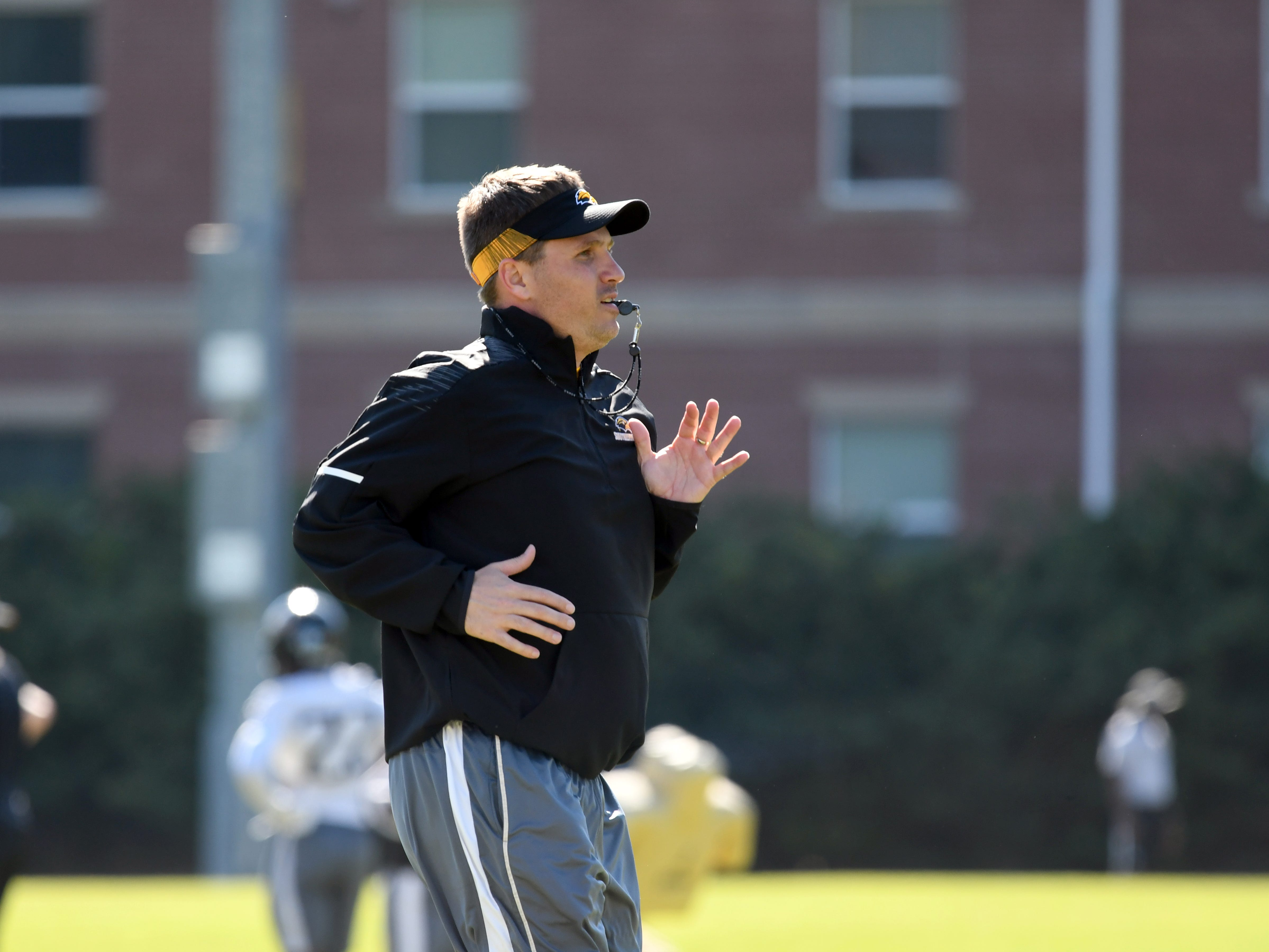 Southern Miss starts their first week of spring ball to prepare for the upcoming season.