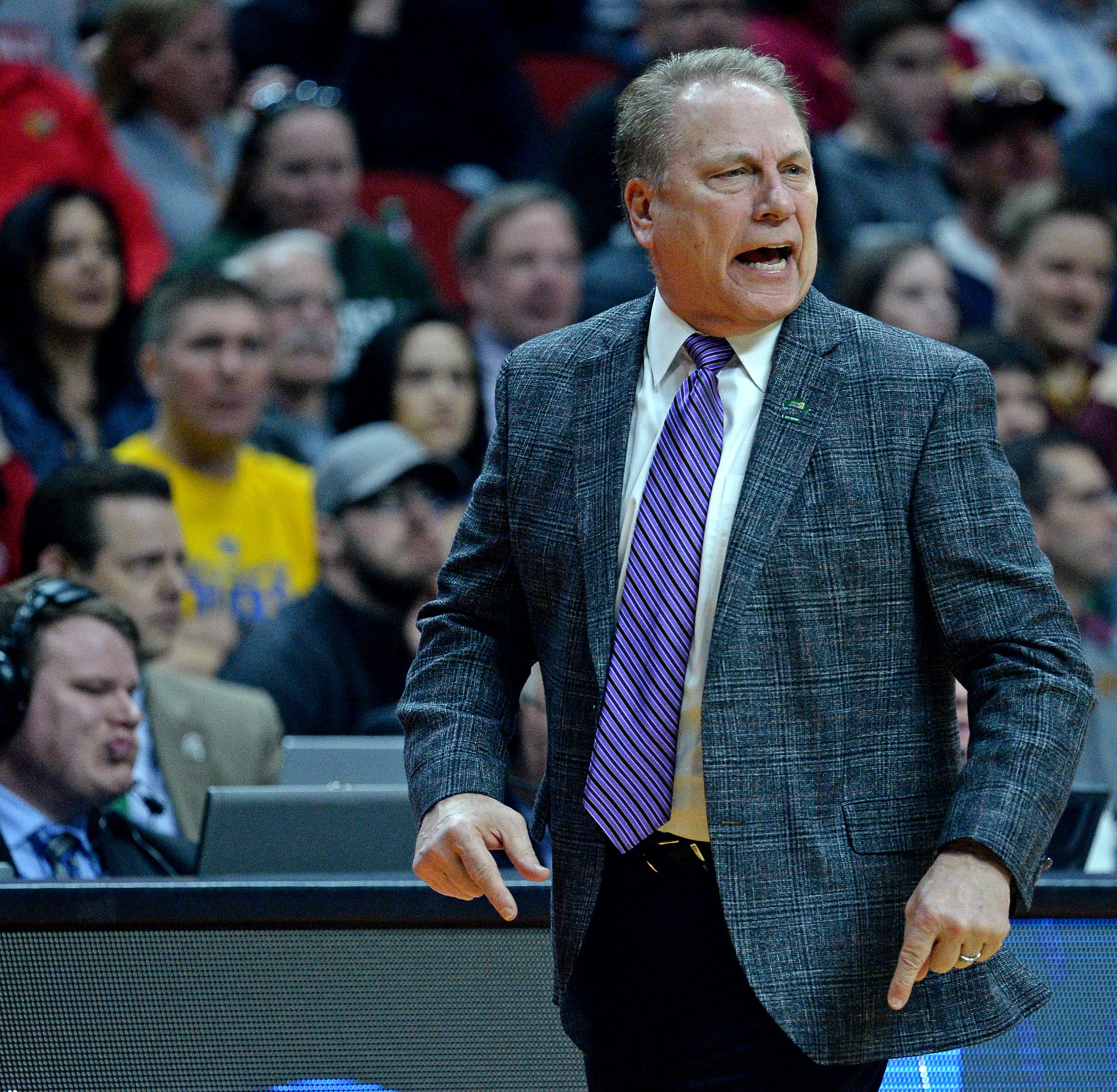 What happened between Aaron Henry and Tom Izzo, and what they both have to say about it.