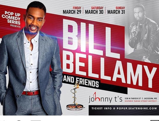 "Promotional image for ""Bill Bellamy & Friends"""