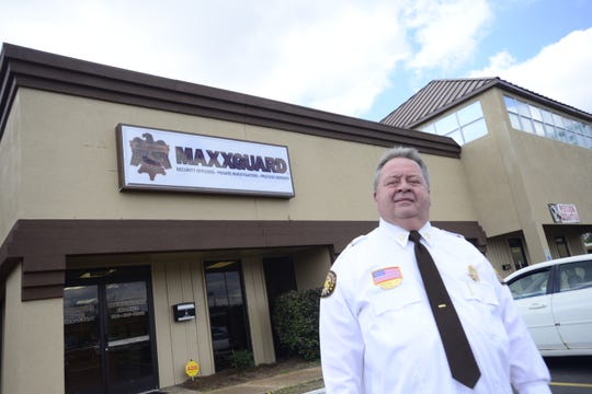 Frankie Lax, owner of Maxxguard Security, moved the business across town to the Highway 45 Bypass in January.