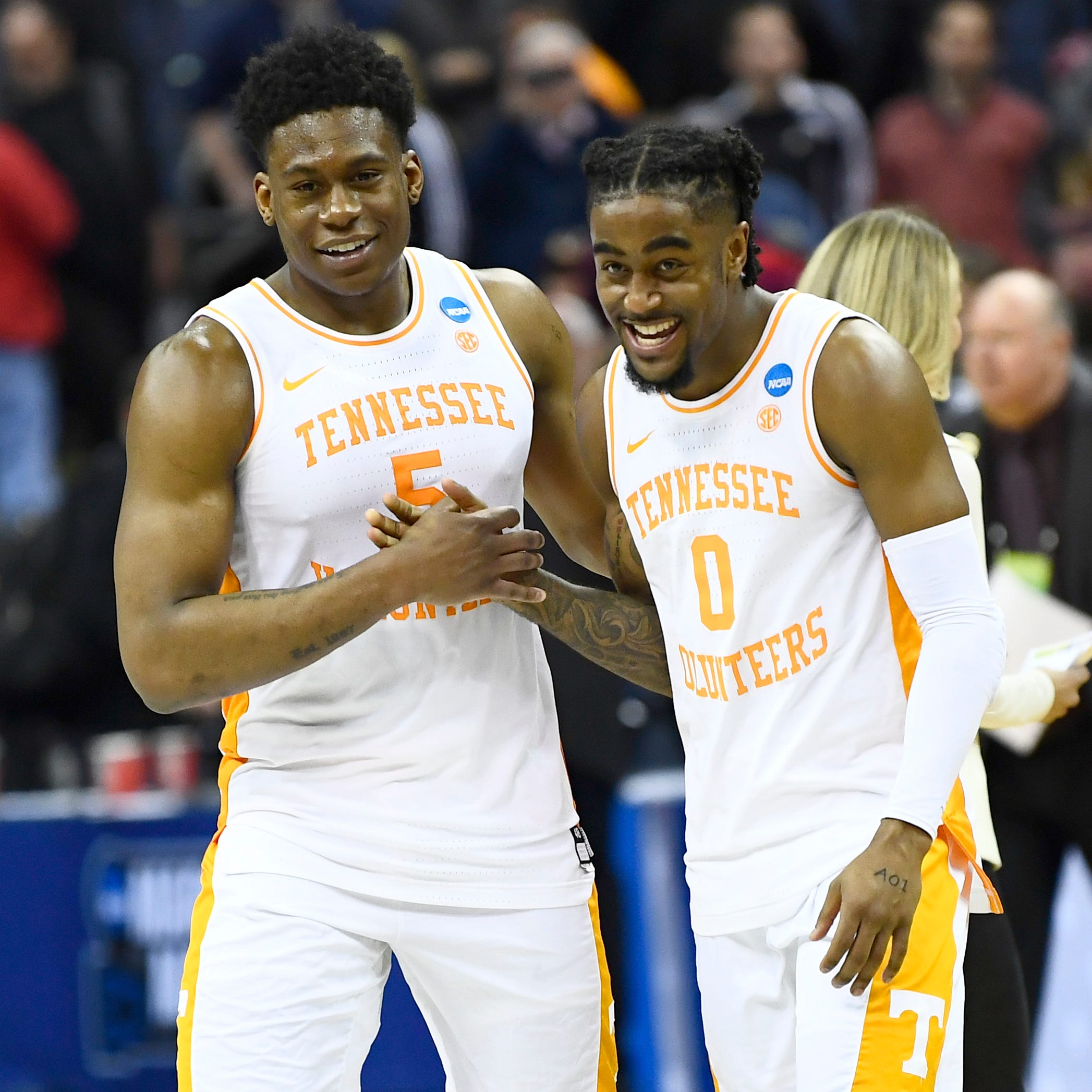 Tennessee basketball survives upset scare from No. 15 seed Colgate in NCAA Tournament