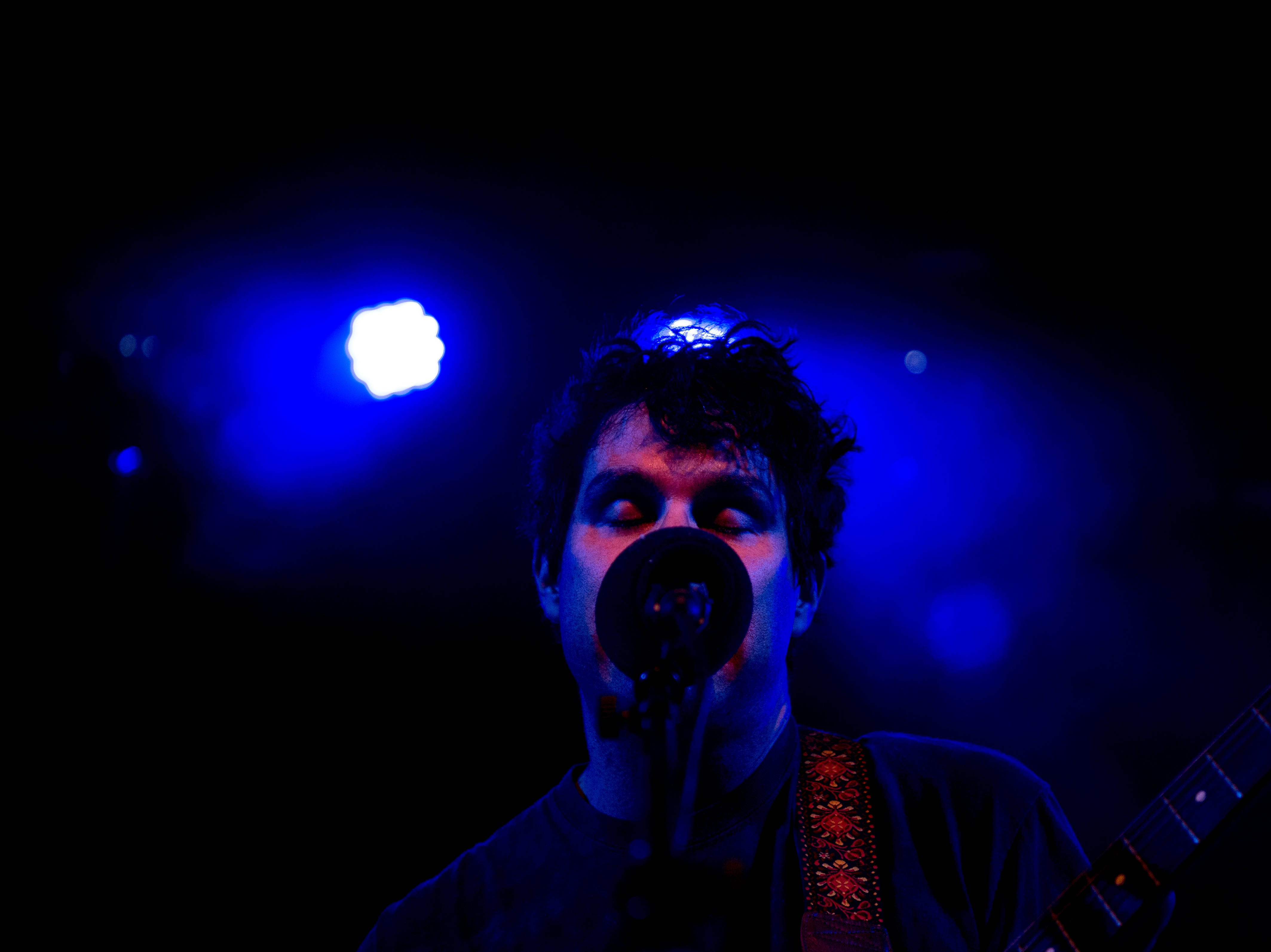 Avey Tare performs at the Mill & Mine during Big Ears Festival 2019 in Knoxville, Tennessee on Thursday, March 21, 2019.